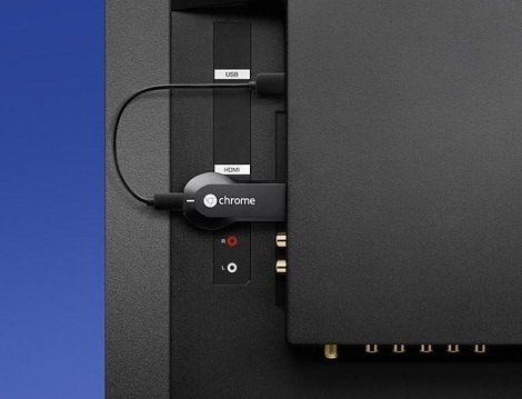 conexion chromecast