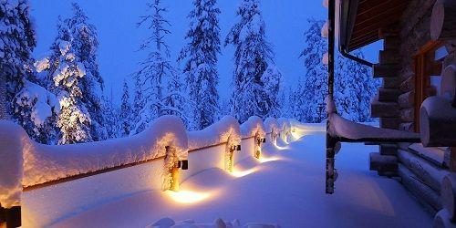 Nochevieja esqui