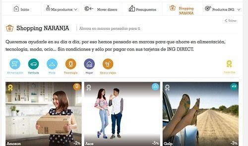 ING DIRECT Descuentos