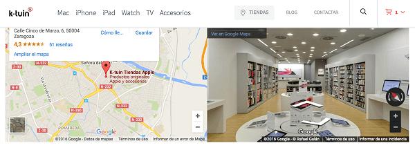 k-tuin tiendas apple
