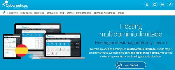 Cyberneticos hosting