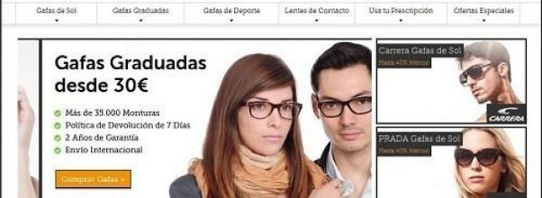 Descuento gafas world