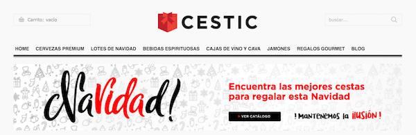 Cestic com tienda