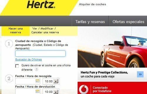 C digo de descuento promocional for Hertz oficinas