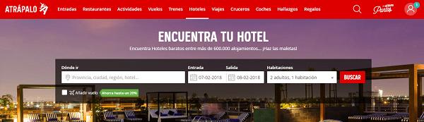 Atrapalo hoteles
