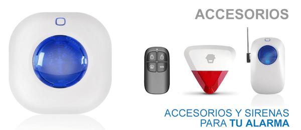 Accesorios alarma