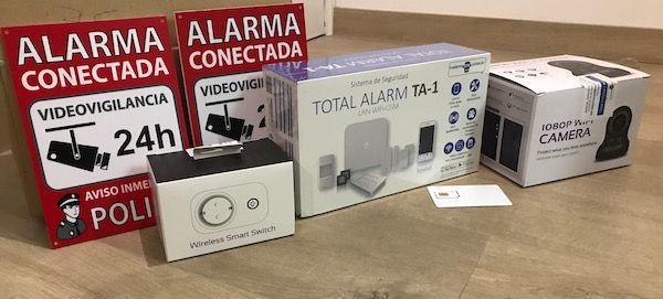 Alarma de seguridad para hogares sin cuotas