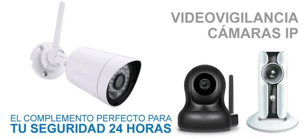 Camaras videovigilancia ip