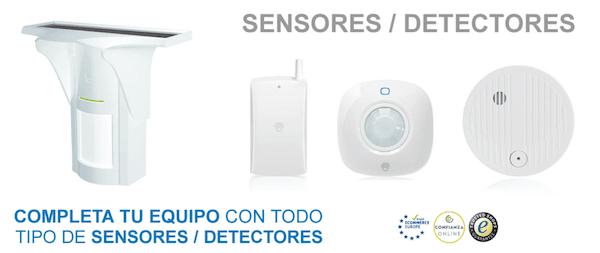 Detectores alarma