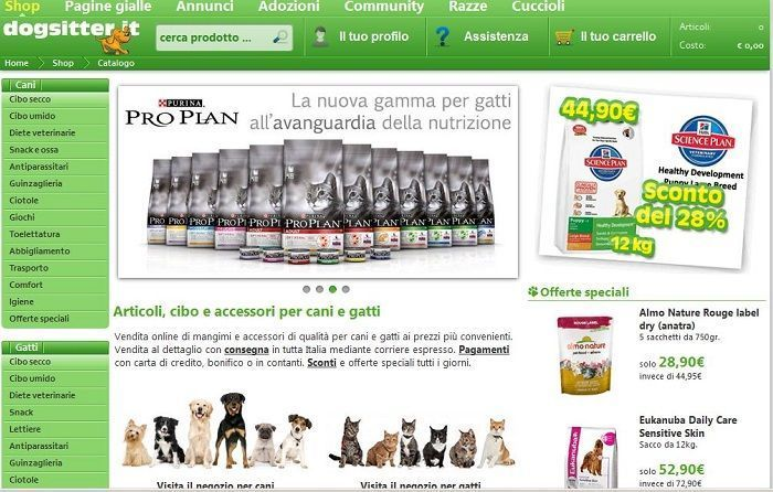 sconto dogsitter