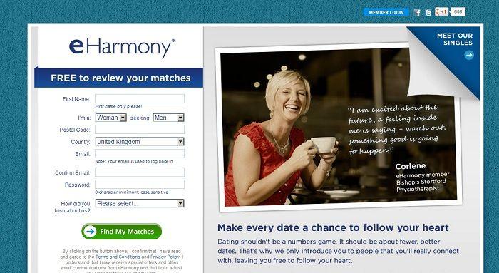 i eHarmony dating siteainutlaatuinen dating site käyttäjä tunnukset